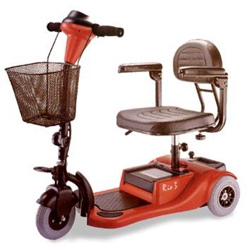 Bruno Rio 3 Travel Scooter Parts