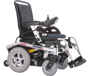 Heartway Sahara S (HP7S) Mobility Scooter Parts