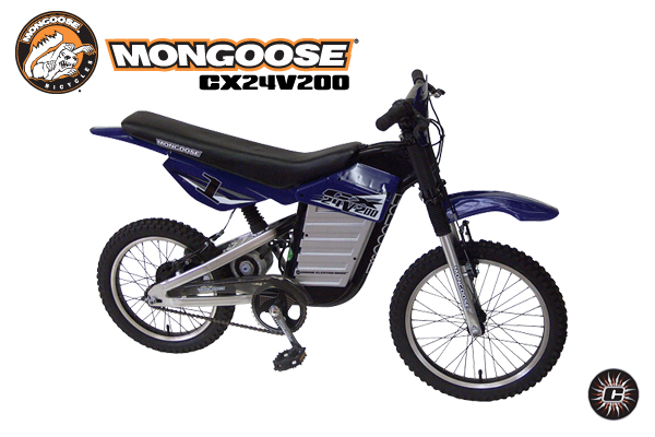 Mongoose CX24V200 Dirt Bike Parts