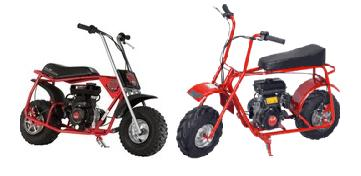 Baja Doodle Bug (Blitz, Dirt Bug, Racer) 97cc Mini Bike Parts