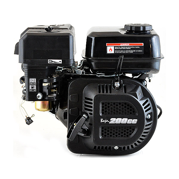 200cc 6.5 Hp Mini Bike Engine for the Baja Mini Bike MB200 (Baja Heat, Mini Baja, Baja Warrior)