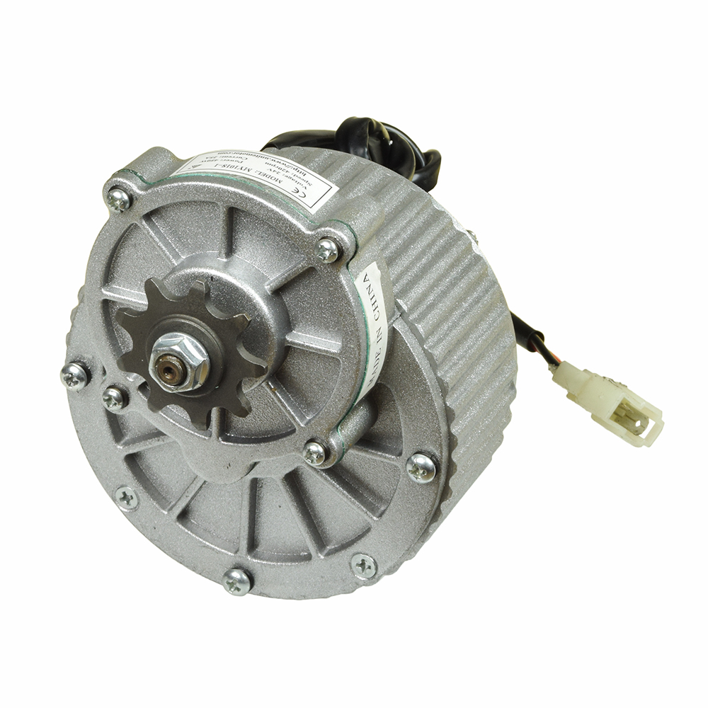 24 Volt 450 Watt My1018 Gear Reduction Electric Motor With