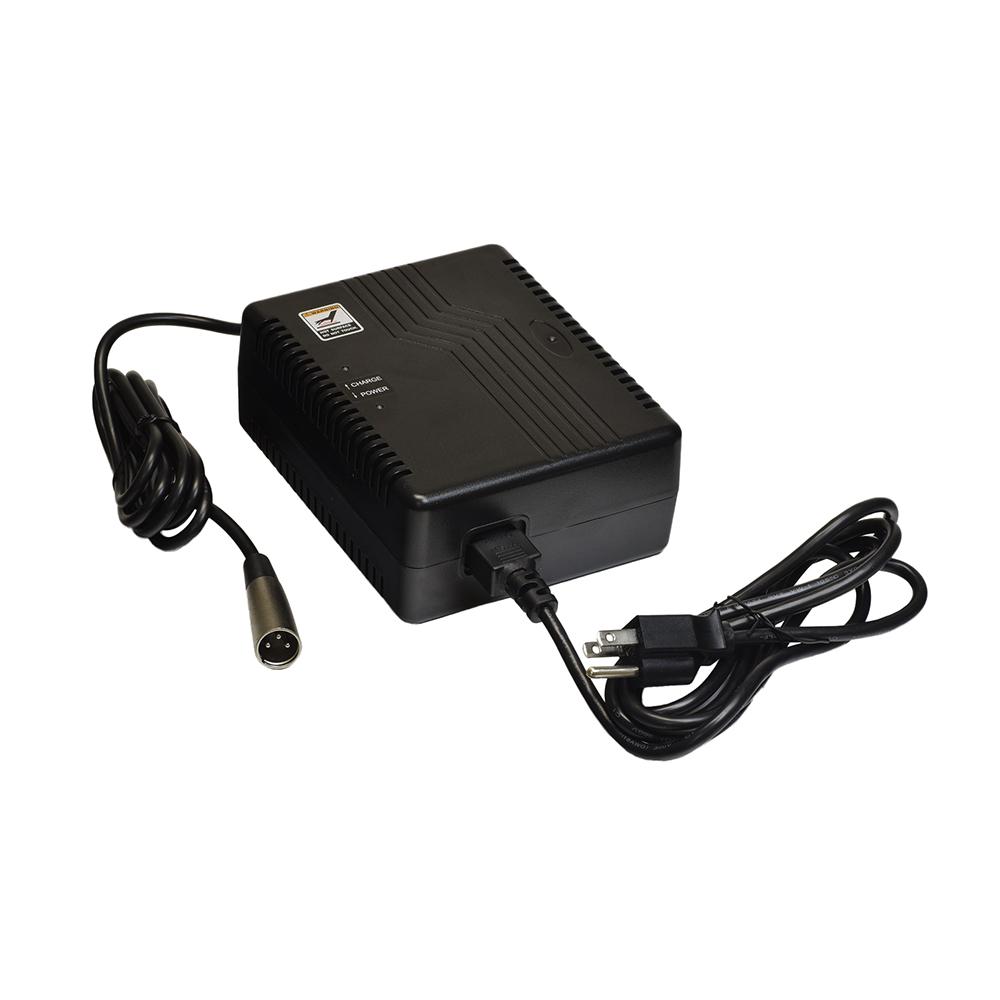 24 volt 5 0 amp xlr elechg1021 battery charger monster scooter parts. Black Bedroom Furniture Sets. Home Design Ideas