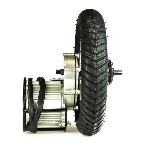 24 Volt 750 Watt Direct Drive Electric Motor & Rear Wheel Assembly