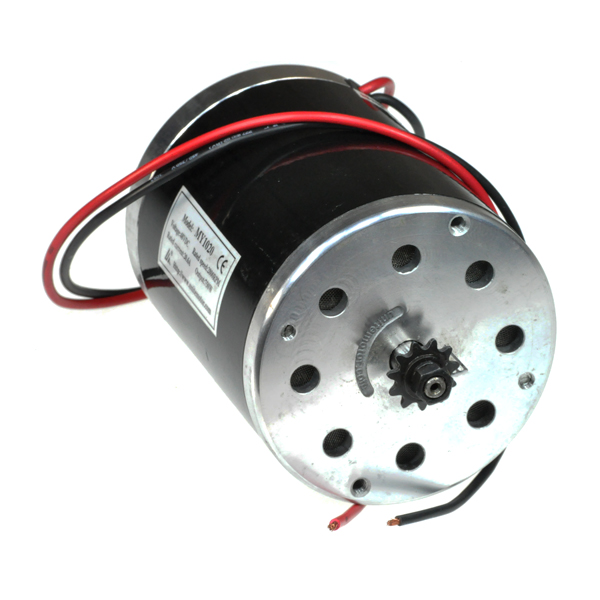 48 Volt 750 Watt MY1020 Electric Motor with 11 Tooth #25 Chain Sprocket