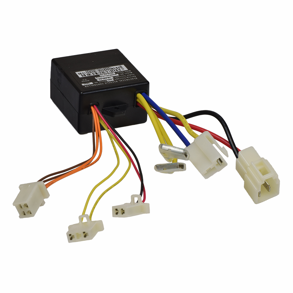 ZK2400-DP-LD (ZK2400-DP-FS) Control Module with 4-Wire Throttle Connector for the Razor E100/E125 (Versions 10+), E150, E175, and Trikke E2 Scooters