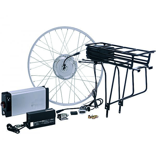 36 Volt 500 Watt Currie Electro-Drive Electric Bike Conversion Kit #3 with Lithium-ion Batteries