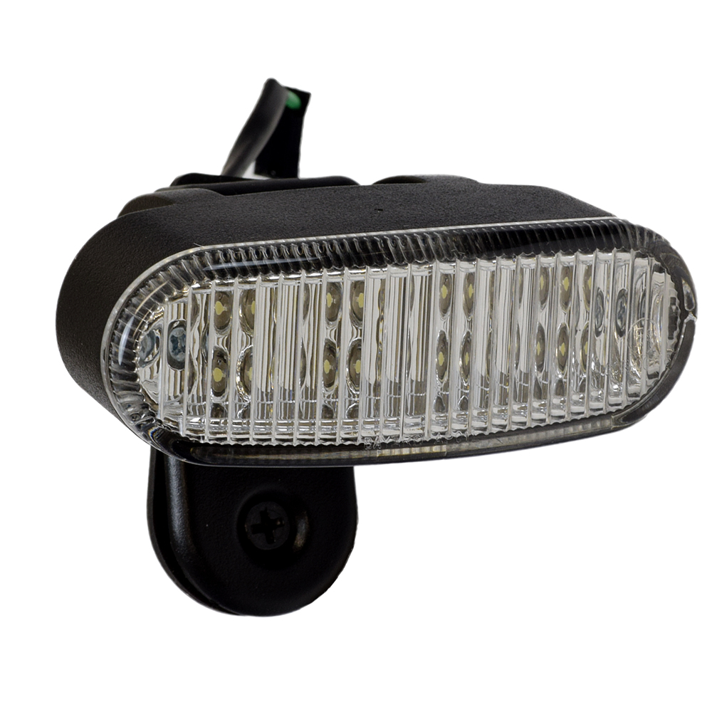 Scooter Headlight Assembly : Led front headlight assembly for pride pursuit sc