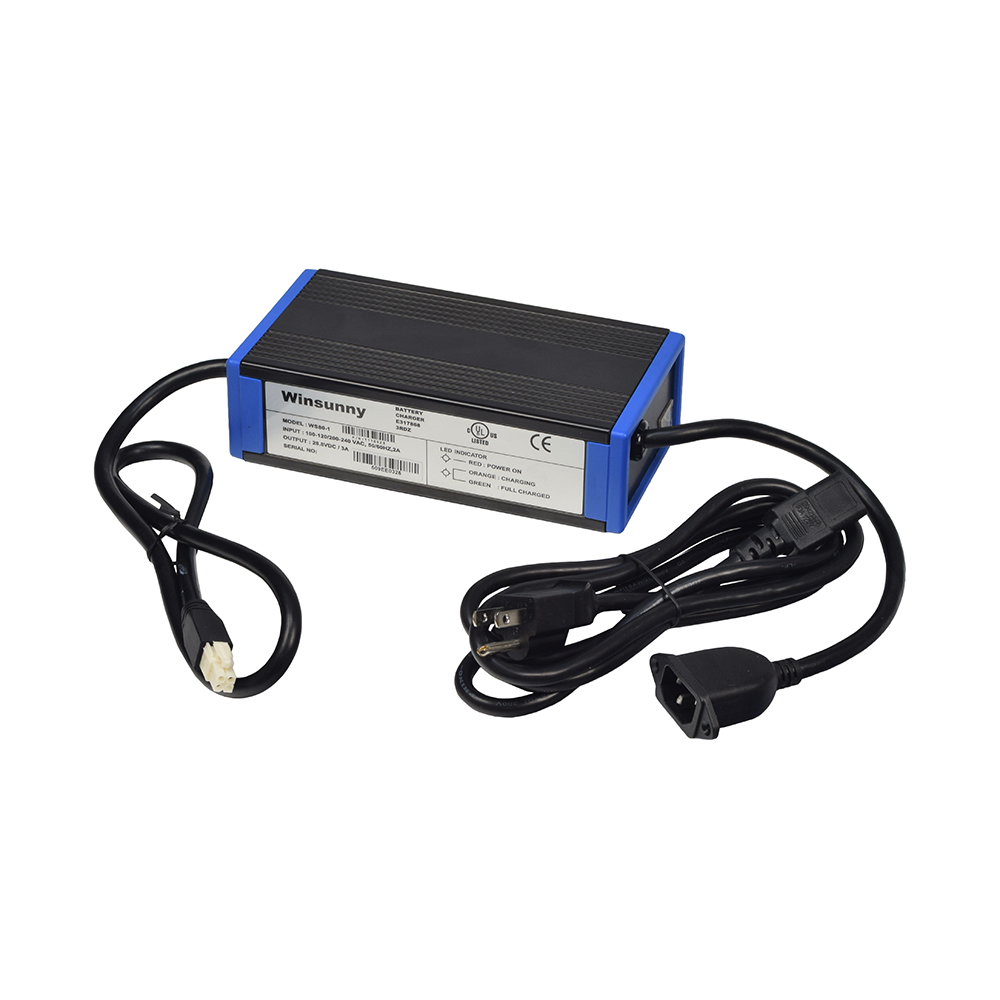24 Volt 3.0 Amp On-Board Battery Charger for Invacare Pronto M50, M51, and M61 Power Chairs