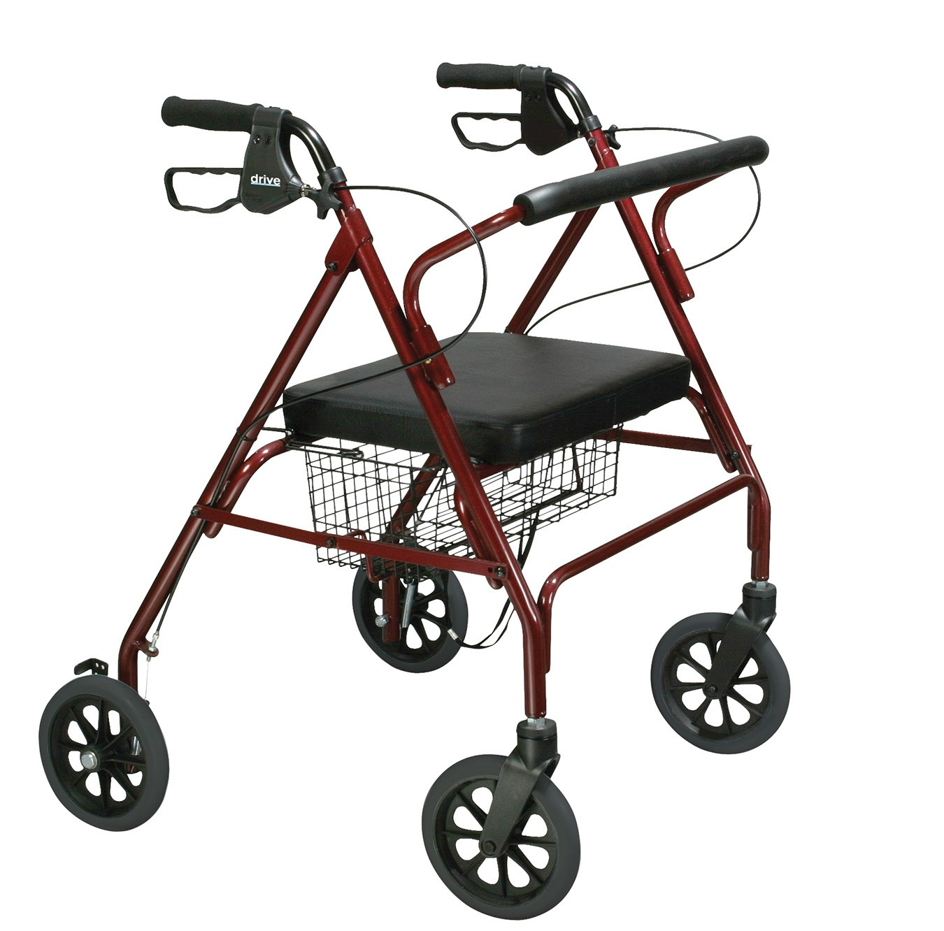 Drive Medical Go-Lite Bariatric Steel Rollator (10215) Parts