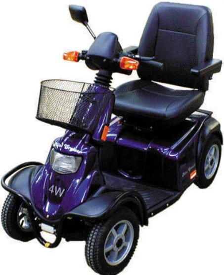 Pride Mini Crosser 4 Wheel (PMV130T4) Parts