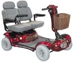 Shoprider Sprinter 2 Seater (889-4DXD) Parts