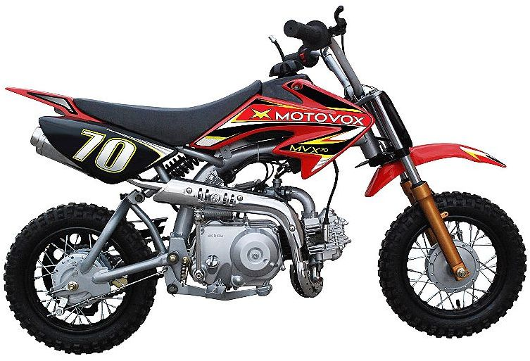 Motovox MVX70 Pit Bike Parts