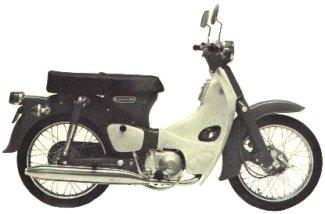 Honda Cub C90, C90M, & CM91 Parts