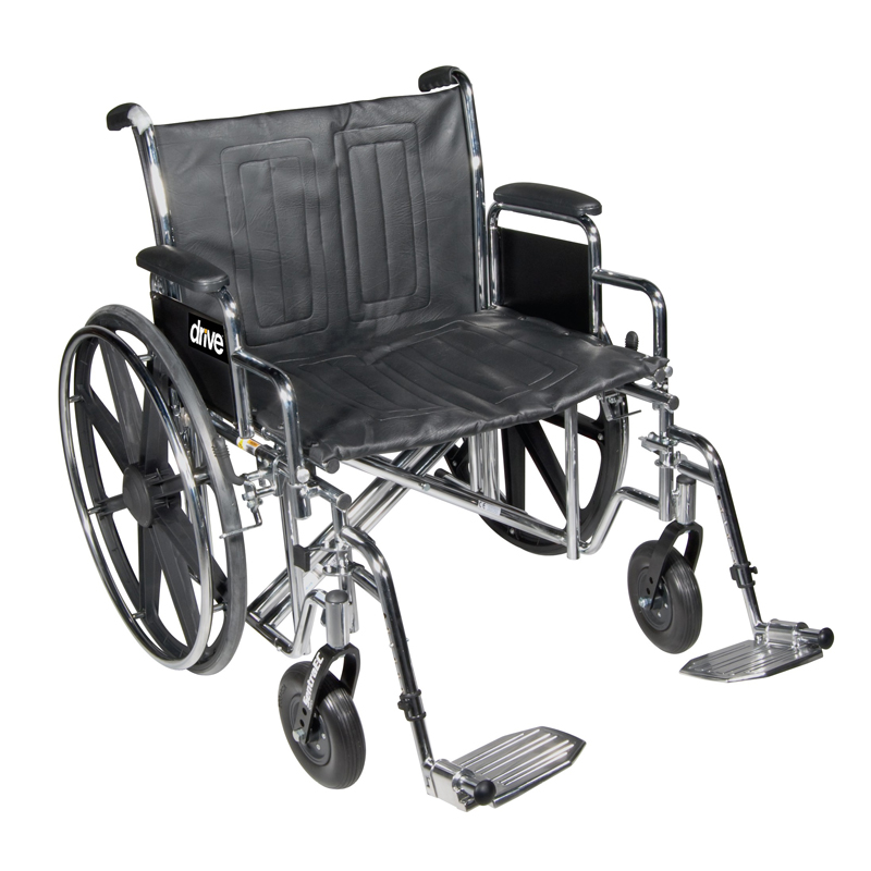 Drive Bariatric Sentra EC Heavy Duty Wheelchair Parts
