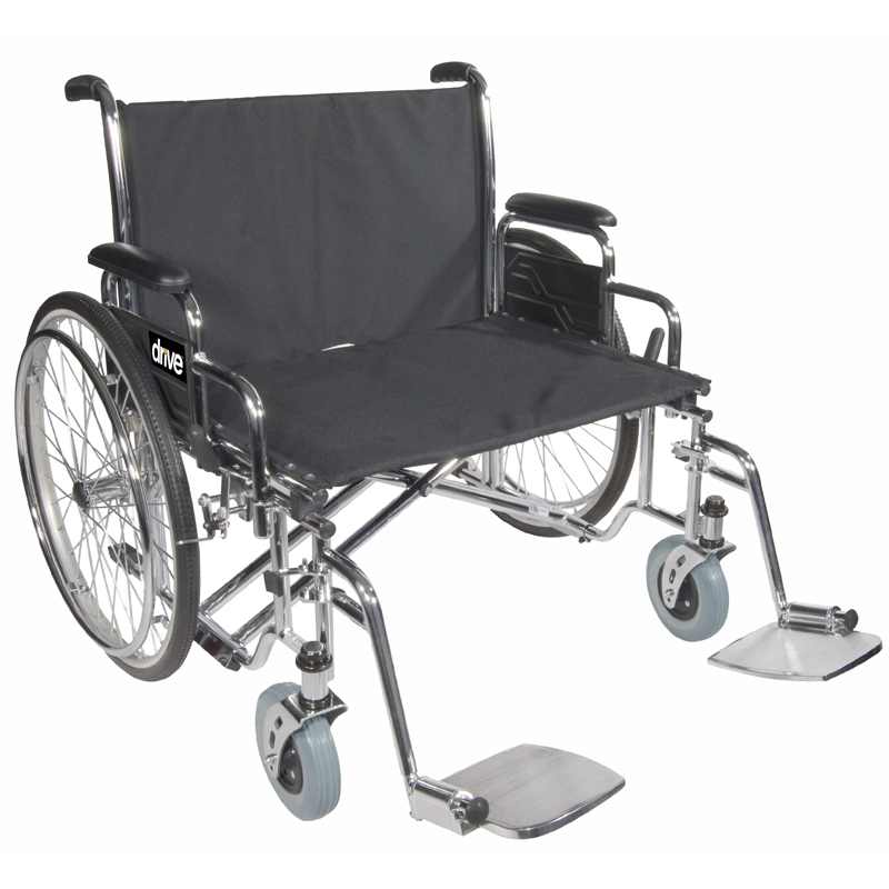 Drive Bariatric Sentra EC Heavy-Duty Extra Extra Wide Wheelchair Parts