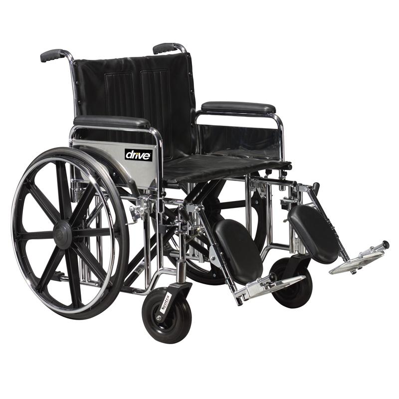 Drive Bariatric Sentra Extra Heavy-Duty Wheelchair Parts