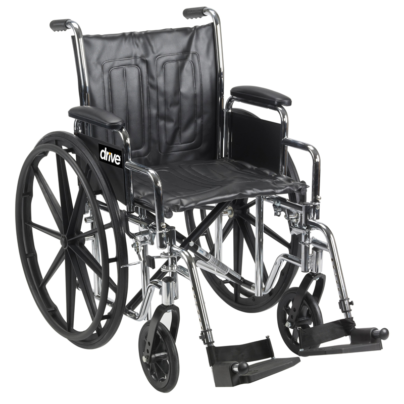 Drive Chrome Sport Wheelchair Parts