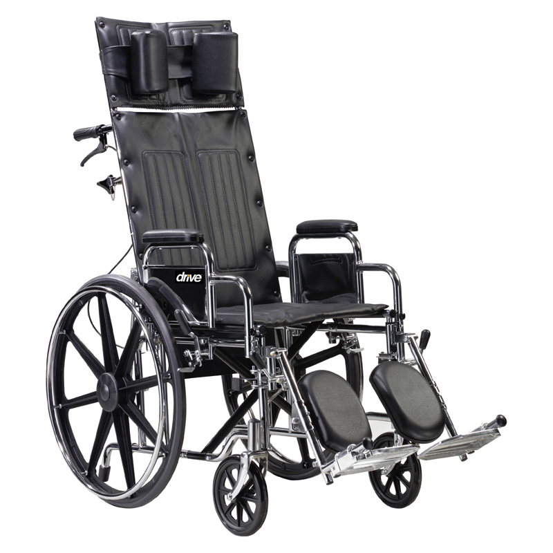 Drive Deluxe Sentra Full Reclining Wheelchair Parts