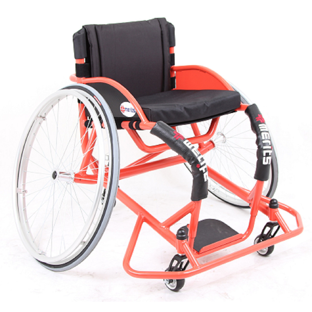 Merits L802B Pro Basketball Manual Wheelchair Parts