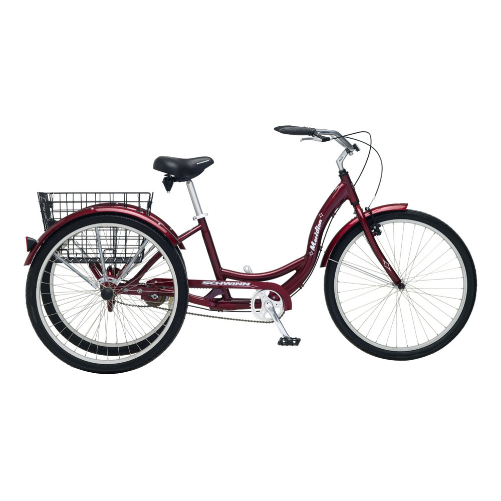 Schwinn Meridian 26 Single Speed Adult Tricycle Parts 50cc Wiring Diagram Bicycles All Bicycle Brands Accessories Monster Scooter