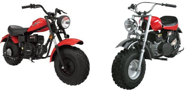 Baja Mini Bike MB165 & MB200 (Baja Heat, Mini Baja, Baja Warrior) Parts
