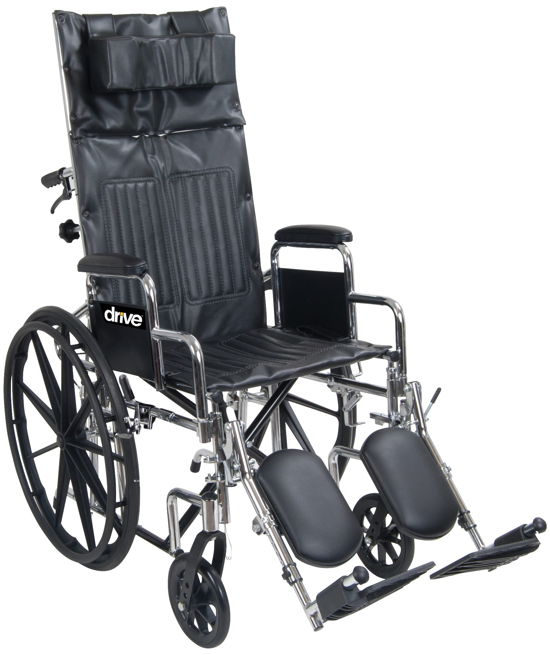 Drive Chrome Sport Full Reclining Wheelchair Parts