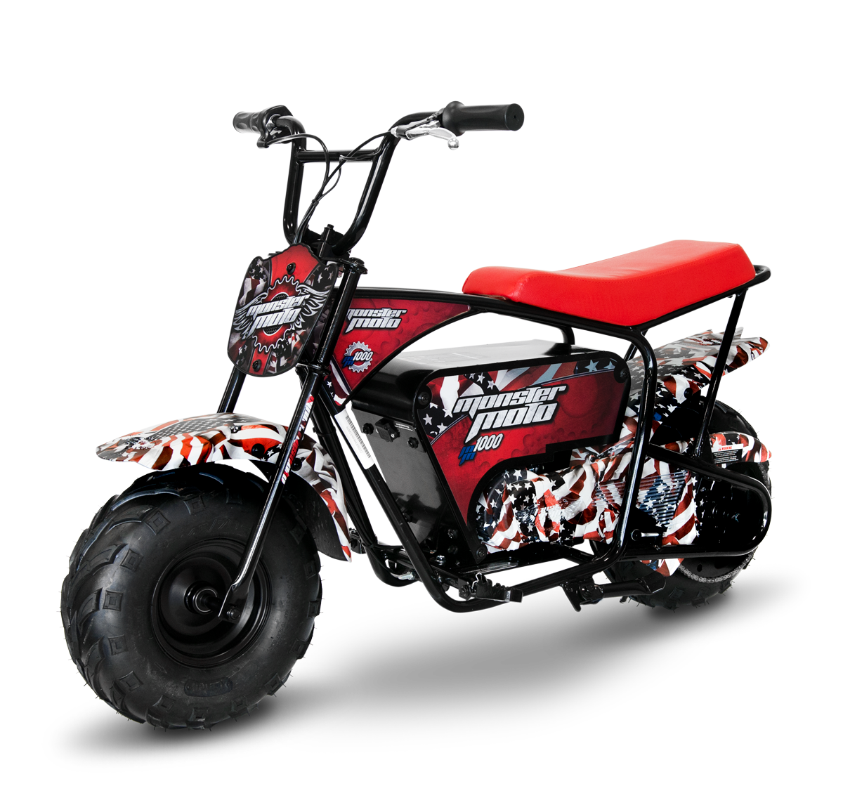 monster moto classic 1000w mm e1000 electric mini bike. Black Bedroom Furniture Sets. Home Design Ideas