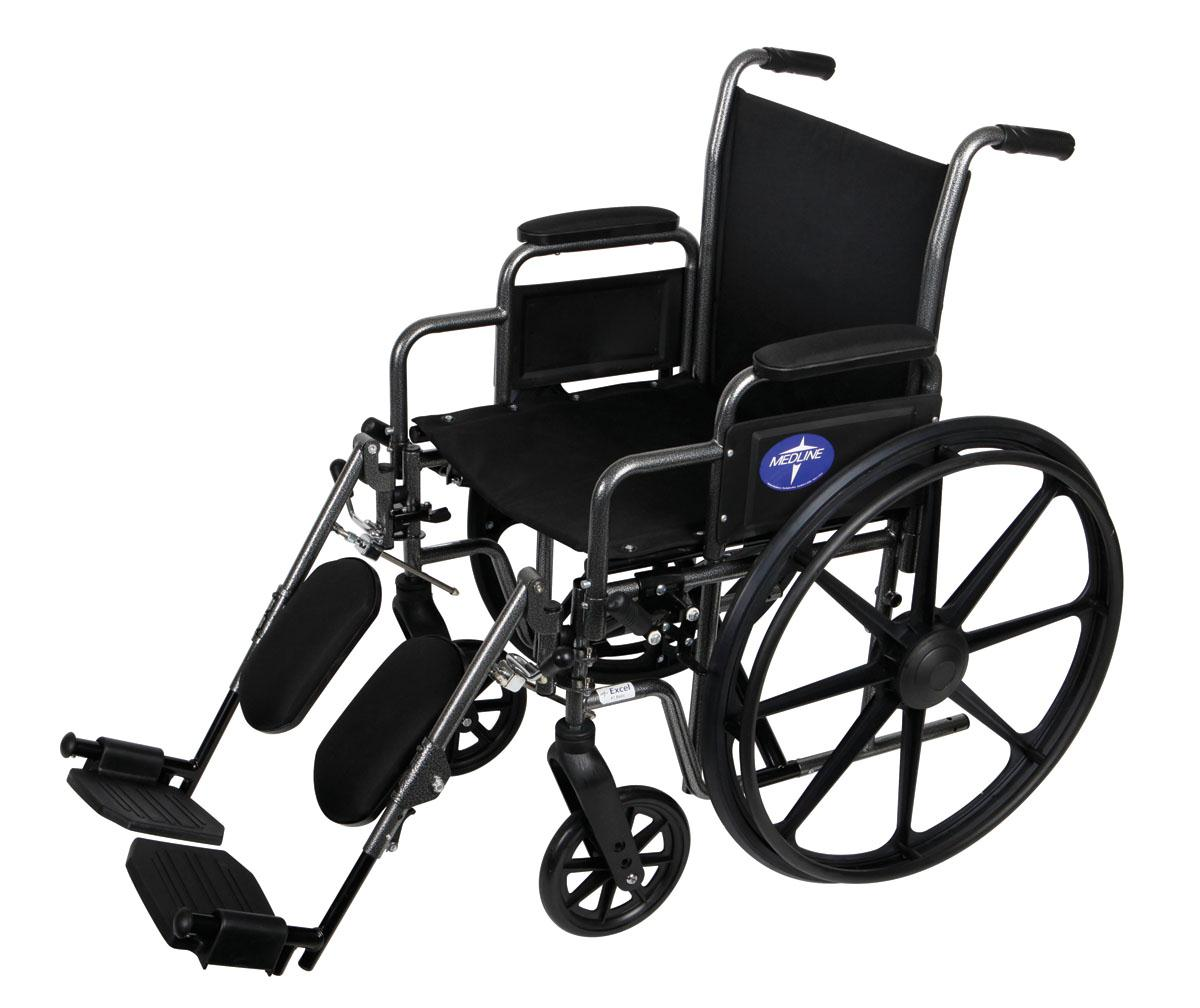 Medline K1 Basic Manual Wheelchair Parts