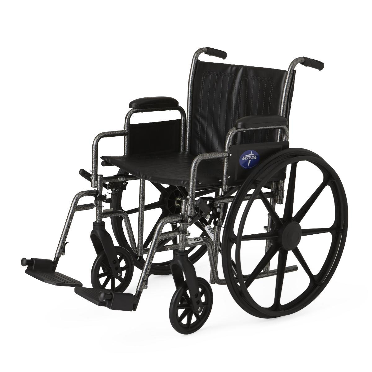 Medline K2 Basic Manual Wheelchair Parts