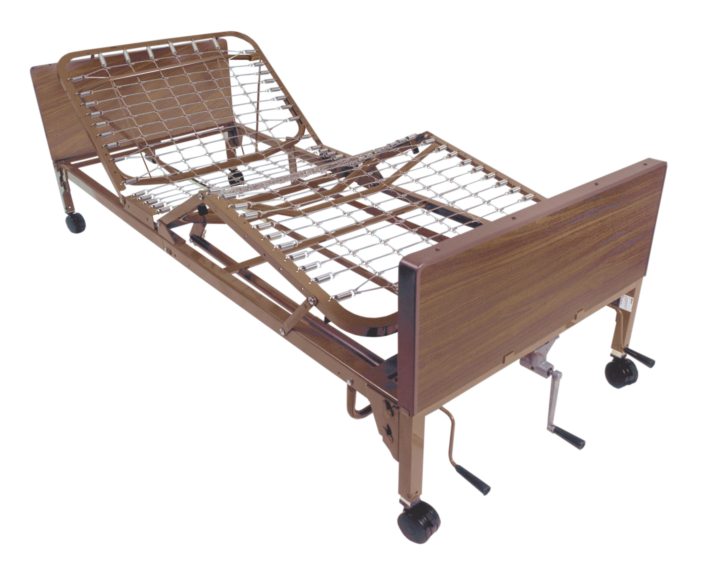 Drive Medical Multi Height Manual Hospital Bed (15003)