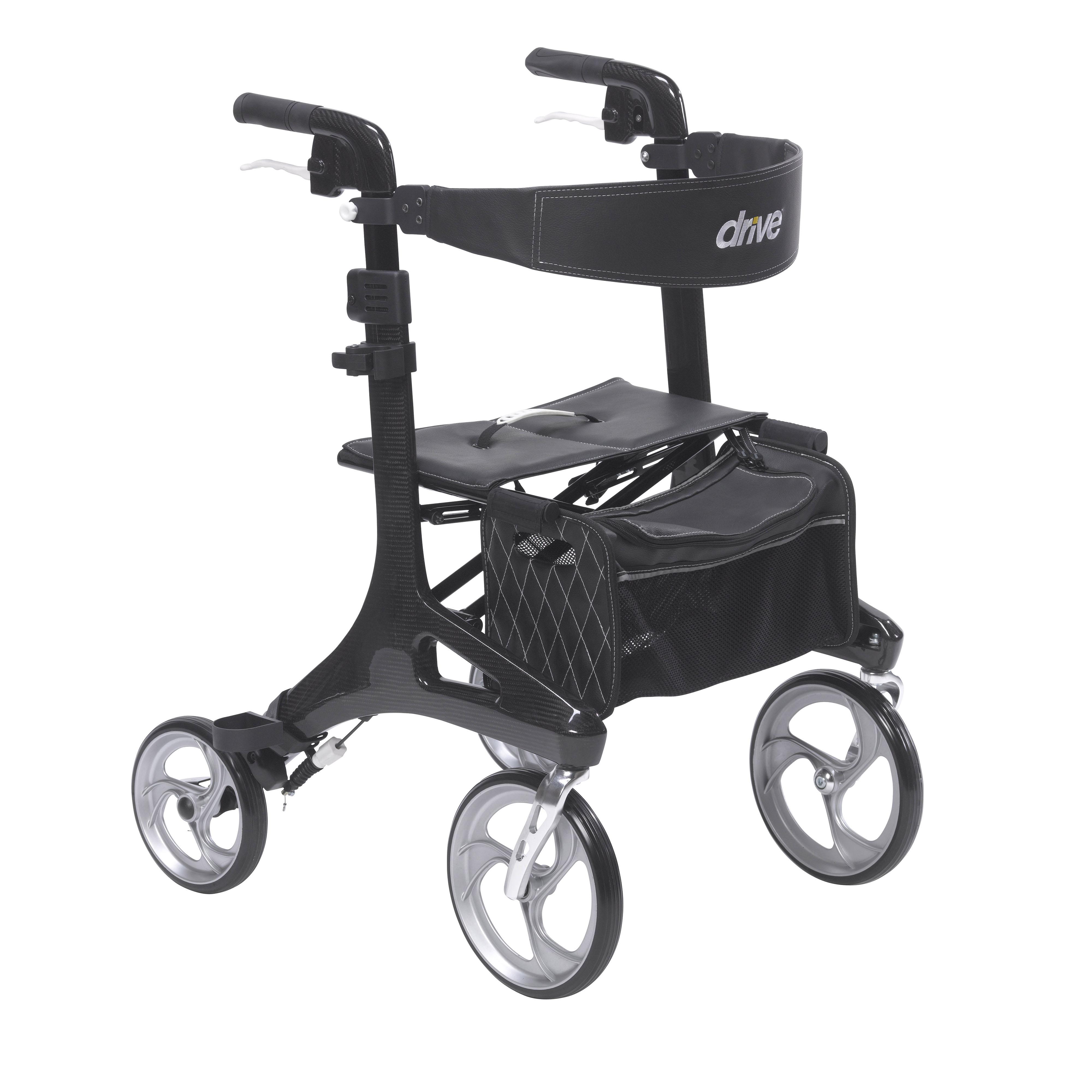 Drive Medical Nitro Elite CF Rollator (RTL10266CF)