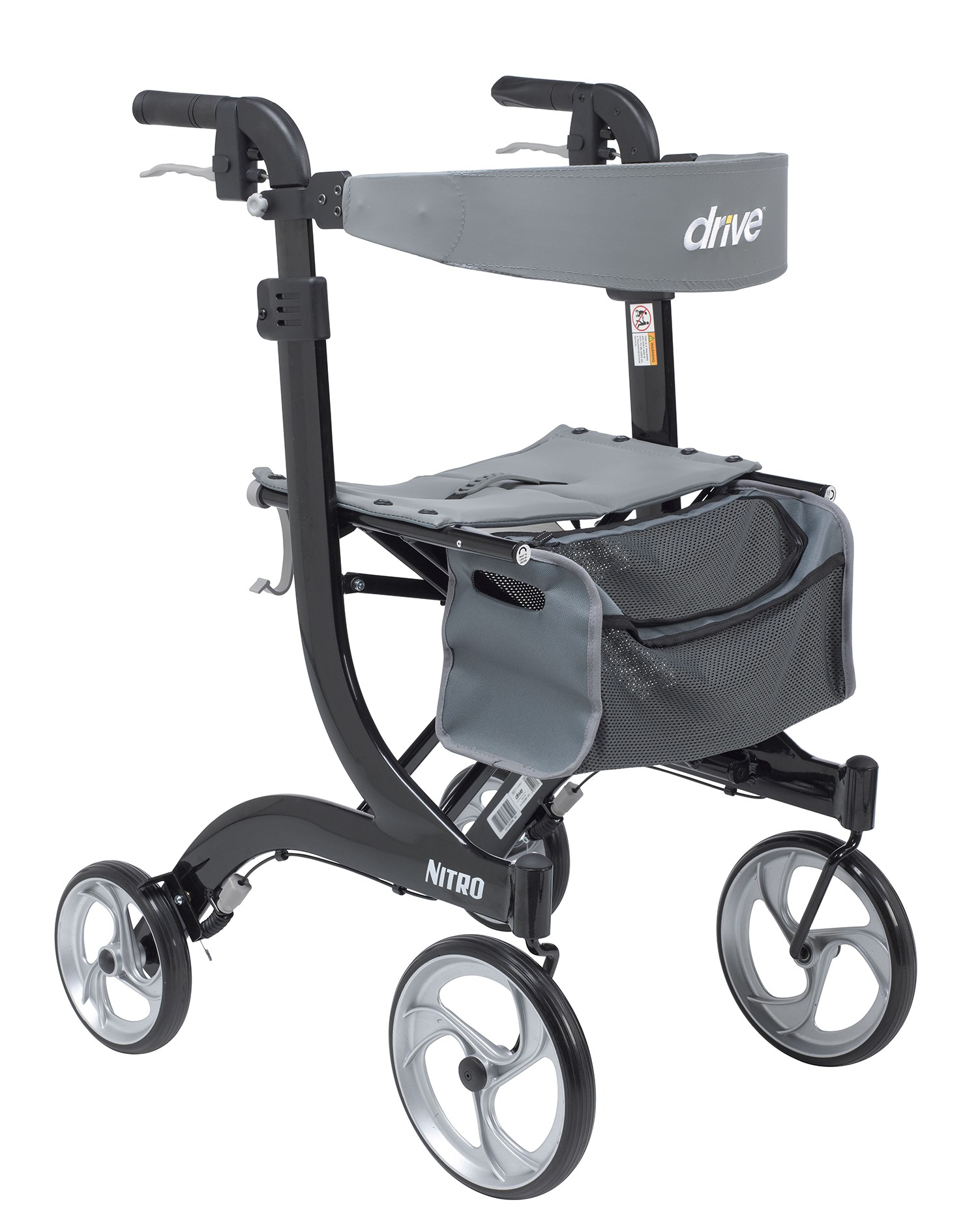 Drive Medical Nitro Tall Rollator (RTL10266-T)