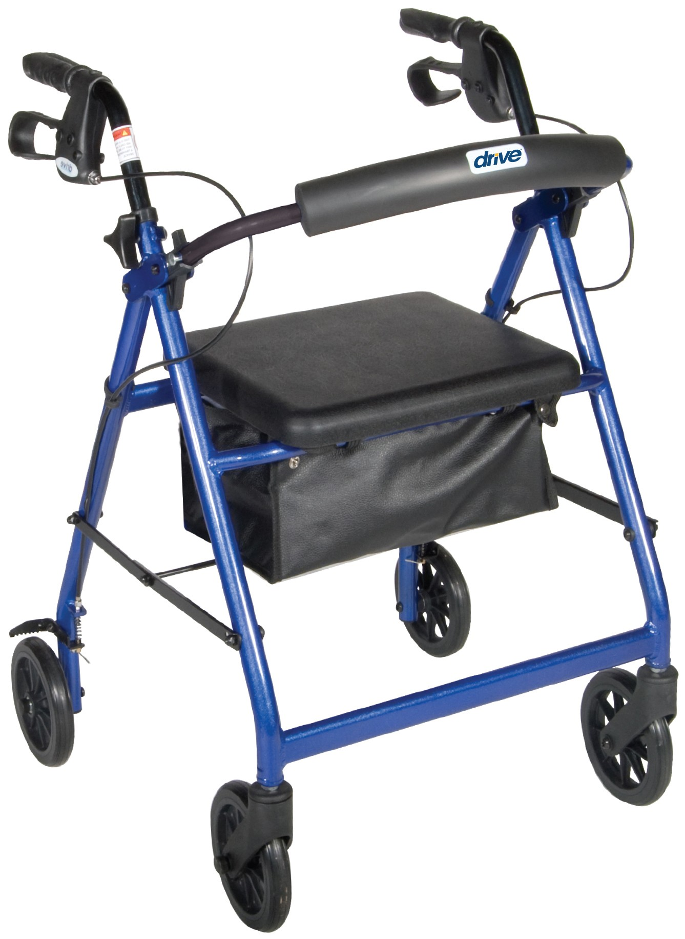 Drive Medical Aluminum Rollator with 6