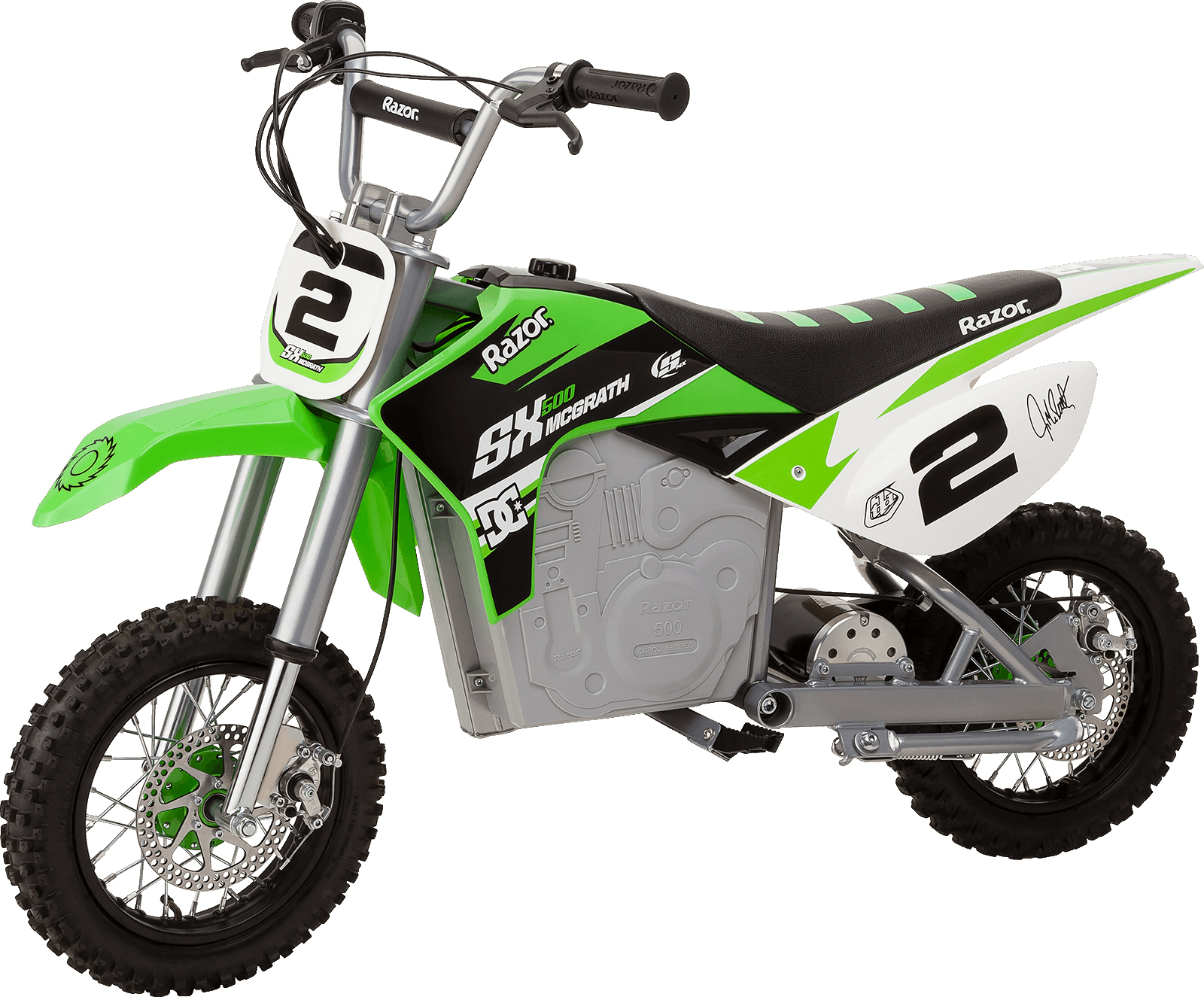 Razor SX500 McGrath Dirt Rocket Dirt Bike Parts - Razor ...
