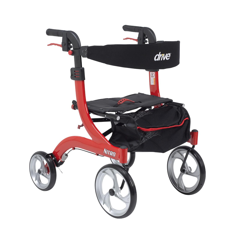 Drive Medical Nitro Hemi Rollator (RTL10266-H)