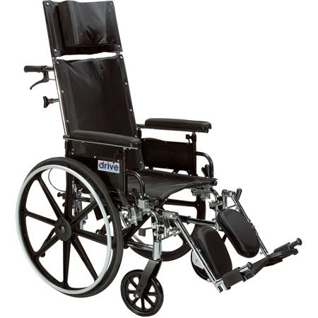 Drive Viper Plus GT Reclining Wheelchair Parts