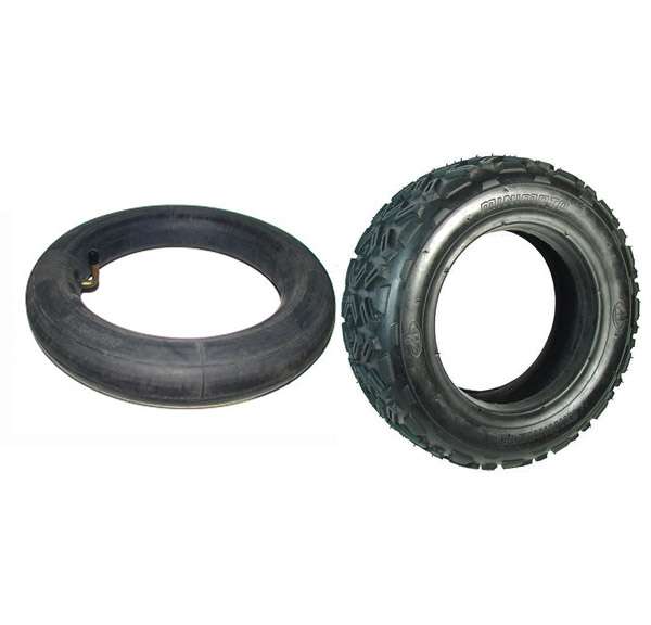 10x4-6 Tire and Tube Set for the Minimoto ATV and Jeep Dune Buggy ...