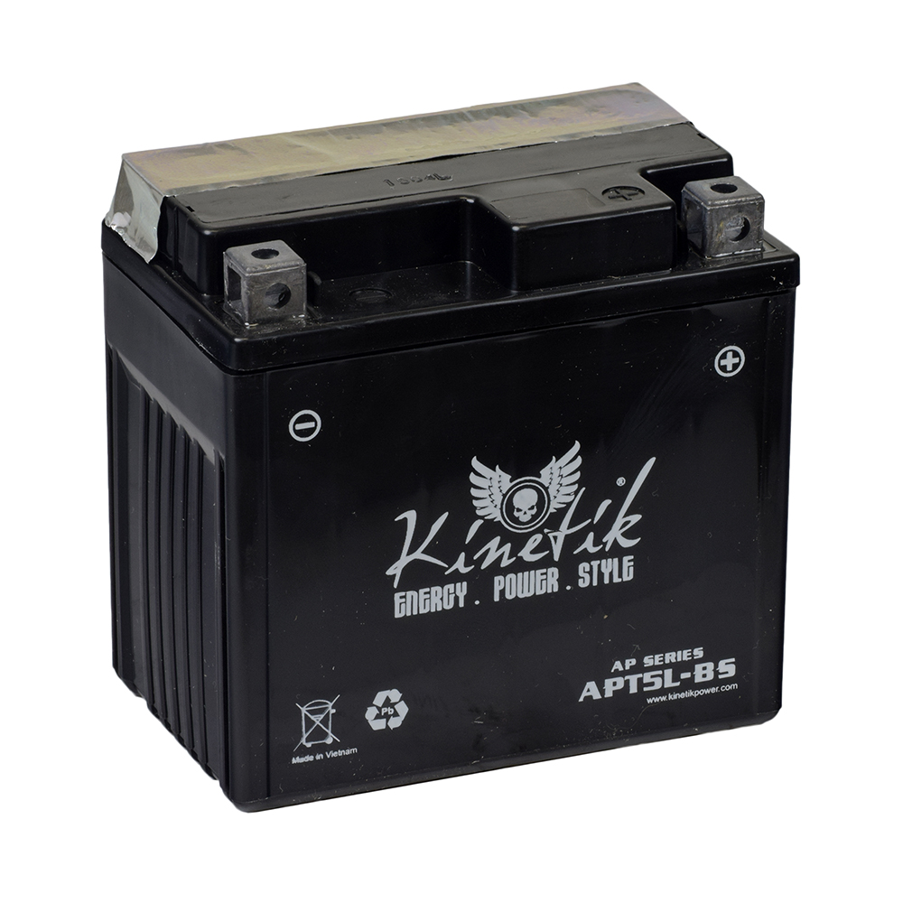 Dirt Bike Battery >> 12 Volt Ytx5l Bs Replacement Dry Charged Agm Scooter Atv And Dirt