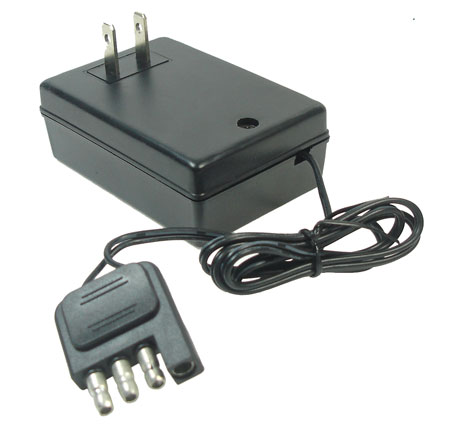 12 Volt 1.0 Amp Flat 4 Prong Charger for Ride On Toys