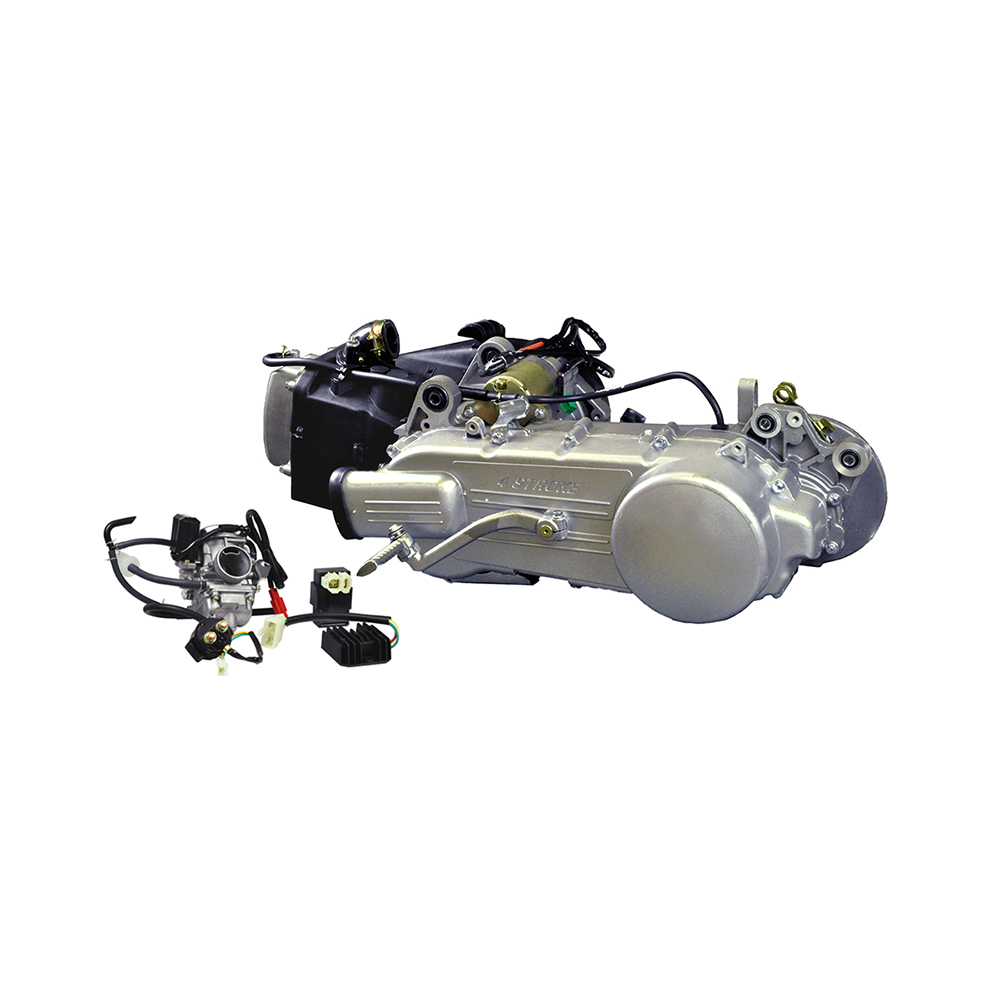 150cc Long Case 4-Stroke GY6 157QMJ Scooter Engine with Automatic CVT