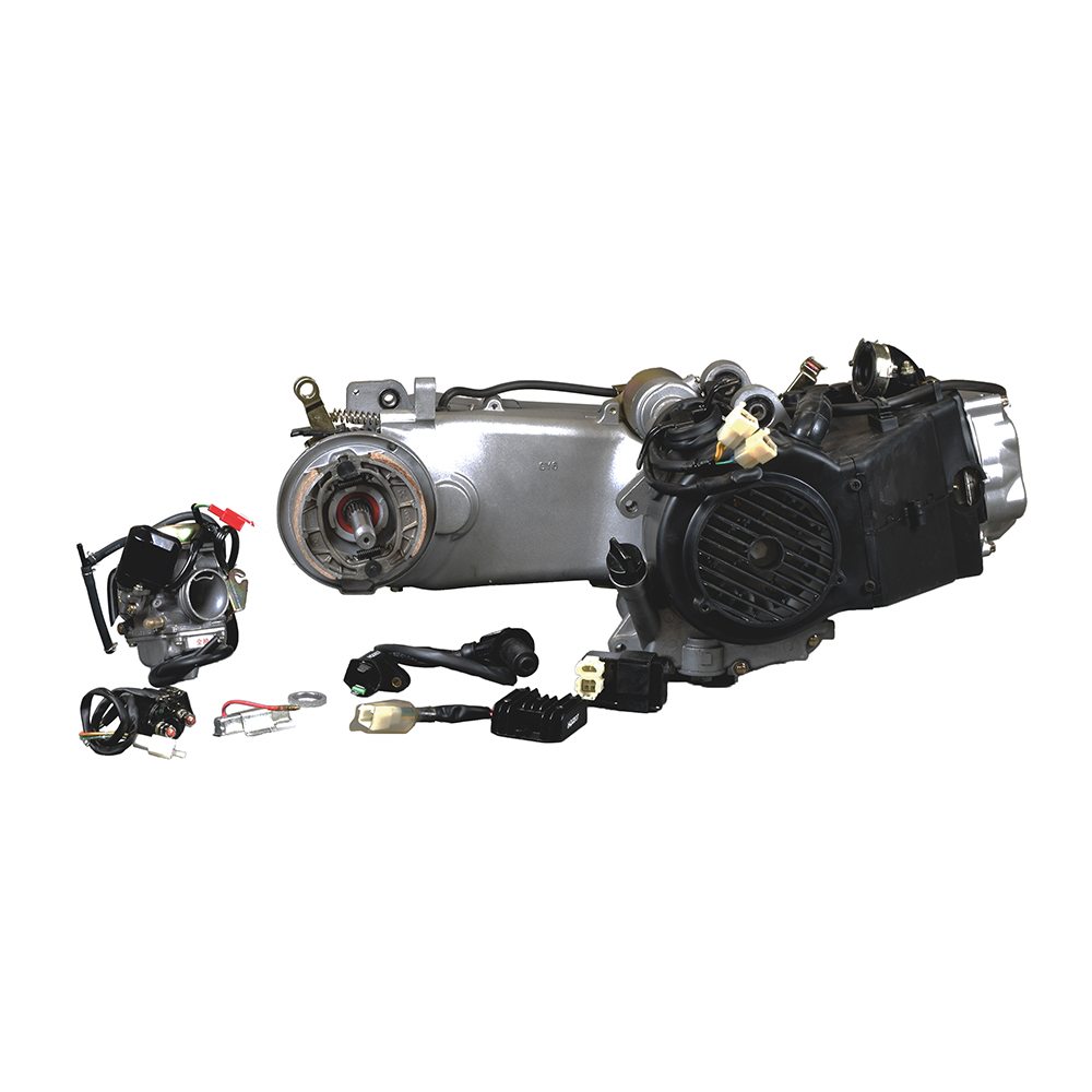 150cc Short Case 4-Stroke GY6 157QMJ Scooter Engine Kit with Automatic CVT