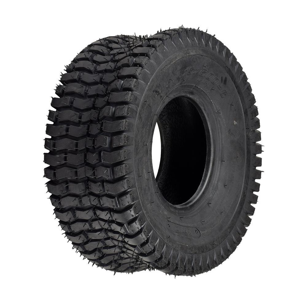 15x6 00-6 ATV & Go-Kart Tire with QD106 Tread - Yerf-Dog