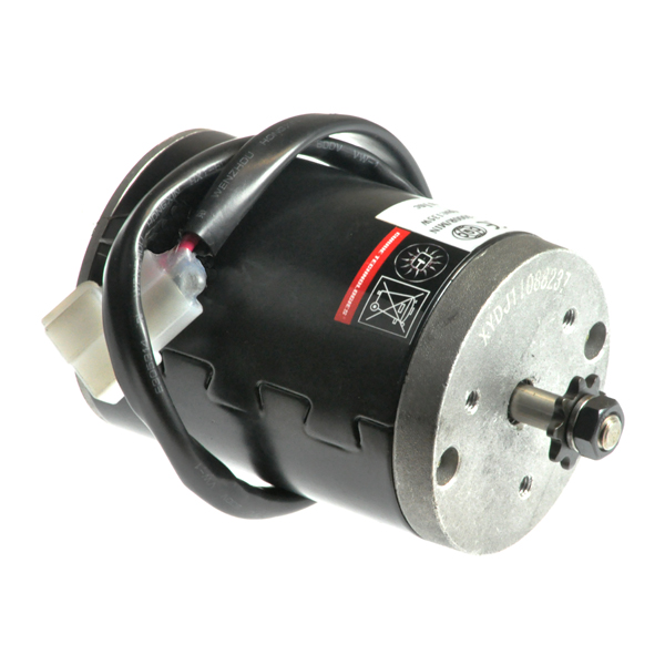 24 Volt 135 Watt XYD-15B Electric Motor with 9 Tooth #25