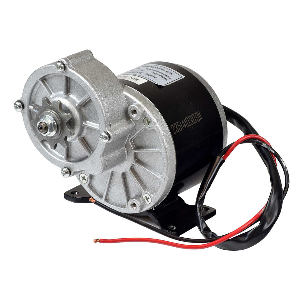 24 Volt 350 Watt My1016z3 Gear Reduction Electric Motor With 9 Tooth Mongoose M350 Wiring Diagram 1 8 Bicycle Chain Sprocket