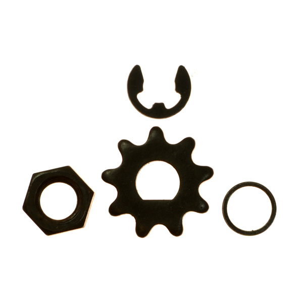 15 Tooth Sprocket D-bore for use with #25 chain for electric scooter motors
