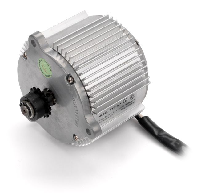 36 Volt 1000 Watt Electric Motor with 15 Tooth #25 Chain Sprocket