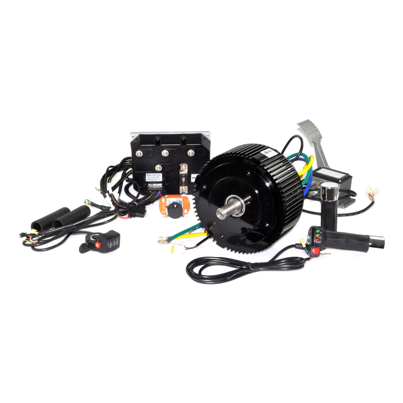 48 Volt 5000 Watt Motor, Controller, and Throttle Kit
