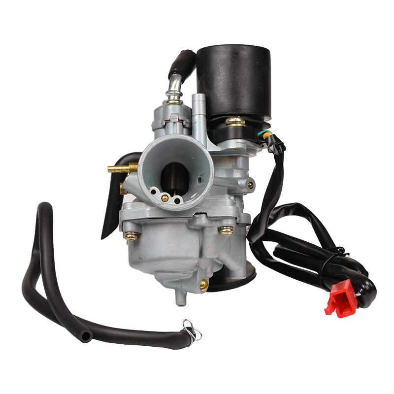 19 mm pz19j carburetor for 2 stroke 50cc 1e40qmb engines monster rh monsterscooterparts com 49Cc Engine with Transmission 49Cc Engine with Transmission