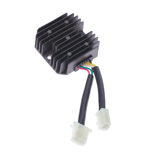 6-Wire 2-Plug Rectifier (Voltage Regulator) for 250cc Engines ...